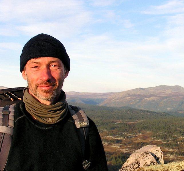 Thoralf Rumswinkel is de gids en één van de begeleiders tijdens de leiderschapsreizen van Back to the wild in Noorwegen