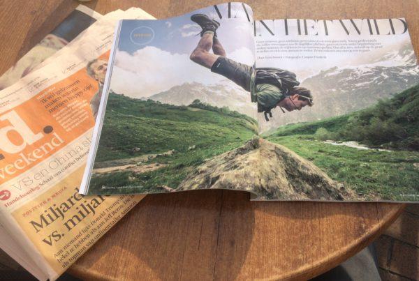 Artikel over leiderschapsreizen en wilderness retreats voor mannen in de natuur. Over reflecteren zonder afleiding en persoonlijke ontwikkeling.
