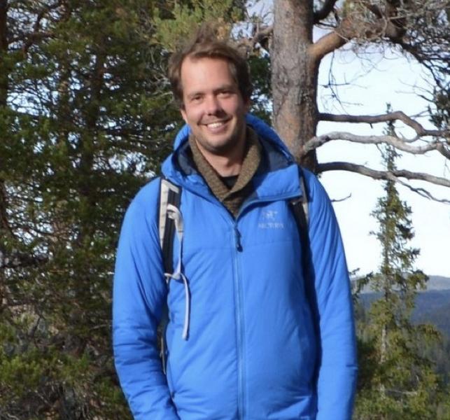 Thijs Visser - begeleider van Wilderness Retreats